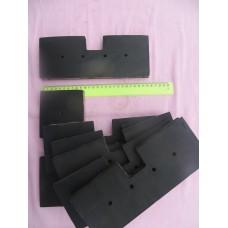 Скребок резиновый для транспортера скребкового ЗП 02.060