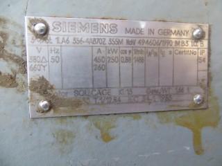 электродвигатель 250 киловатт 1485 оборотов в мин