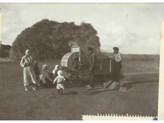Работа в поле 1911г.