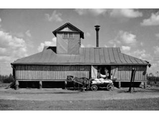Зерносушилка 1950 год.
