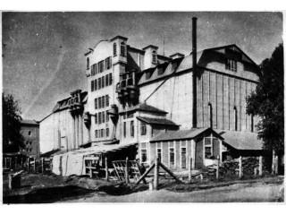 Зерновой элеватор. Технологическая башня. 30-е годы.