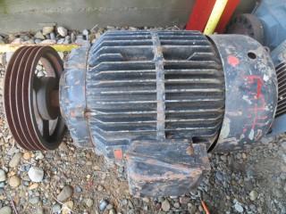 электродвигатель 55 киловатт 1485 оборотов в мин . б.у.
