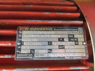 Купить мотор-редуктор 11 кВт бывший в употреблении. Карелия