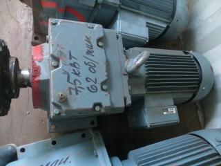 Мотор-редуктор 7.5 киловатт б.у.